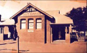 Ganmain's new Post office, 1954