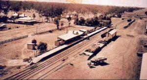 Ganmain Railway Station 1924